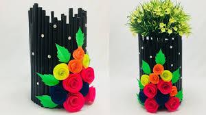 News Paper Flower Vase Newspaper Flower Vase Vase And Cellar Image Avorcor Com