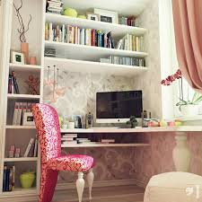 ... Inspiring Teenage Room Decor Stores Girly Bedroom Decor Table Cupboard  And Books With Chairs ...