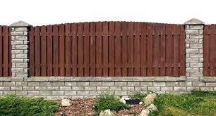 Small Picture Brick And Wood Fence Style SOGOCOUNTRY Design Excellent Brick