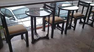 glass top dining table for sale in islamabad. cafe and restaurant dining table in lahore with glass top for sale islamabad