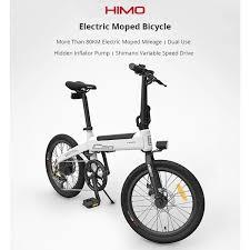 <b>Original Xiaomi HIMO C20</b> 10AH Electric Moped Bicycle 25KM Per ...