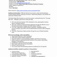 Luxury Merchandising Resume Examples Composition Documentation