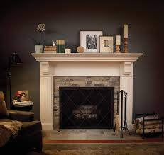 traditional spaces tile fireplace surround design pictures