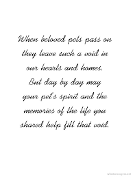Loss Of A Pet Quotes Mesmerizing Sympathy Quotes Loss Of Pet Card Making Pet Sympathy Pinterest