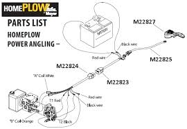 meyers plow light wiring diagram images fisher plow headlight boss plow wiring harness diagram nilza net on meyer snow