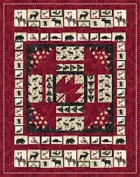 Northcott pattern | Fabric - Quilts | Pinterest | Patterns and Craft & Pattern (Hard Copy) to Make Oh Canada Quilt 60 x 76 Using Stonehenge Fabric  by Northcott Adamdwight.com