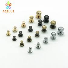 metal rivet head. 30sets 4/5/6/8/10mm solid brass screw/nail rivet metal head