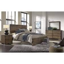 Aspen Home Dimensions Panel Bedroom Set in Spiced Rum