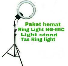 makeup light stand. lampu ring light makeup stand