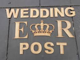 How To Decorate A Wedding Post Box WEDDING POST Royal Crown ER decorate your own wedding post box 62