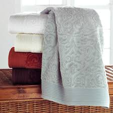 guest bathroom towels: park avenue bath towels from peacock alley