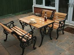 Small Picture Fabulous Iron And Wood Garden Bench Diy How To Restore A Cast Iron