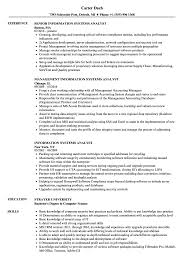Computer Information Systems Resume Sample Information Systems Analyst Resume Samples Velvet Jobs 19