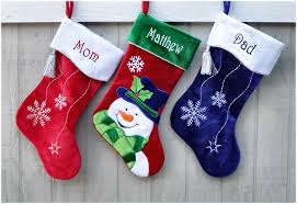 Bling Velvet Personalized Christmas Stocking