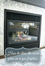 cleaning gas fireplace glass how to clean inside glass on gas fireplace best way to clean cleaning gas fireplace glass