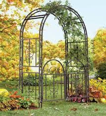 optional gate wedding arch trellis 7 ft