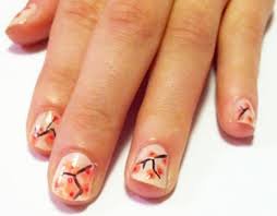 How to do Cherry Blossom Nail Art - College Fashion