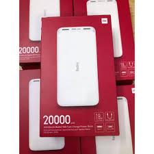 Pin sạc dự phòng Xiaomi Redmi 20.000mAh Chính Hãng Digiword