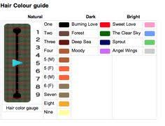 New Leaf Hair Color Chart 111 Best Game Guides Info Images Animal Crossing Animal