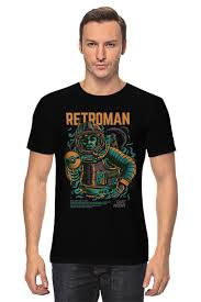 <b>Футболка классическая</b> Retroman #2588379 от denisdv4g по цене ...