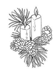christmas candles coloring pages. Delighful Pages Beautiful Christmas Candles Coloring Page And Candles Pages