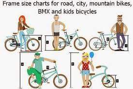 Cruiser Bike Size Chart Mountain Frame Size Chart Bike Size Chart For Kids Cruiser