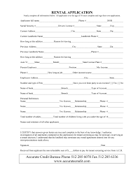 Rental Statement Form Examples Of Profit And Loss Statements And Simple Rental Contract