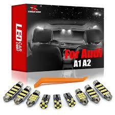 Sai Số Giá Rẻ LED Cho Xe Audi A1 8X Hatchback Sportback A2 8Z0 (2000 Đến  2018) xe Thân Cây Bóng Đèn Trang Trí Nội Thất Phụ Kiện Đèn Bộ|Đèn tín hiệu