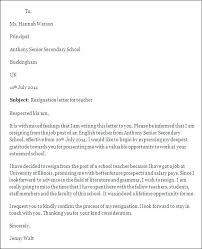 Retirement Letter For Teachers Sample Official Letter Retirement ...