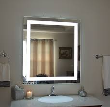 amazoncom wall mounted lighted vanity mirror led mam83636 commercial grade 36 lighted mirror m11 lighted