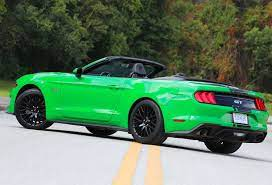 2019 Need For Green Ford Mustang Gt Convertible Review Fordnxt Stangbangers Ford Mustang Gt Mustang Gt Ford Mustang