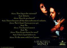 Quotes From Beautiful Mind Best Of After Watching The Movie A Beautiful Mind Dr John Forbes Nash