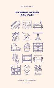 Icon For Interior Design Interior Design Icons Set Made By Istar Design Series Of