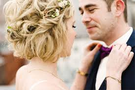 Coiffure Mariage Pour Cheveux Courts Mariage Coiffure