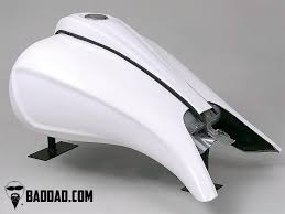 competition series stretched tank shroud with bodyline bad dad
