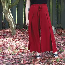 Wrap Pants Pattern Beauteous Winslow Culottes Hack Wrap Pants Helen's Closet