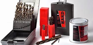 cobalt drill bit set. metric and imperial cobalt steel drill set bit