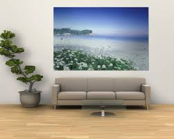 living room wall painting designs simple sticker