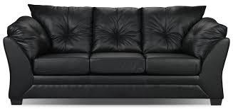 Image Brilliant Max Faux Leather Sofa Blacksofa Max En Similicuir Noir The Brick Max Faux Leather Sofa Black The Brick