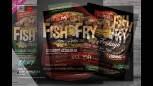 Fish Fry Flyer Microsoft Office Fish Fry Flyer Templates Youtube