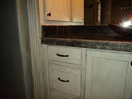 Staining Wood Kitchen Cabinets White