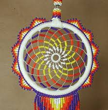 Native American Beaded Dream Catchers Simple Dreamcatcher Native American Oglala Lakota Tony Monroe Beaded