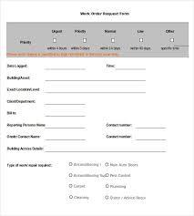 Access Order Form Template 39 Work Order Templates Download Pdf Work Order Format