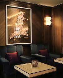 art deco wall light metal halogen by pierre chareau