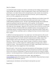 Tefl Cover Letter Brilliant Ideas Of Sample Cover Letters For