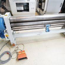 sheet metal bender round. luna 8266/ 20/ 40 three-roll sheet metal bending machine bender round x