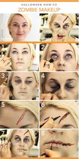 diy zombie makeup tutorial