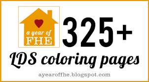 Small Picture A Year of FHE LDS Coloring Pages