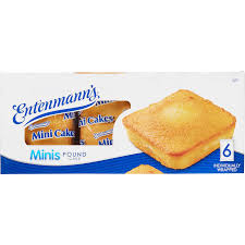 Entenmanns Minis Pound Cake 6 Ct