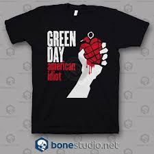 American Idiot Green Day Band T Shirt Adult Unisex Size S 3xl